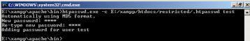 Windows Konsole ohne -b