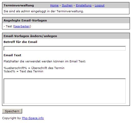terminverwaltungs script php kalender